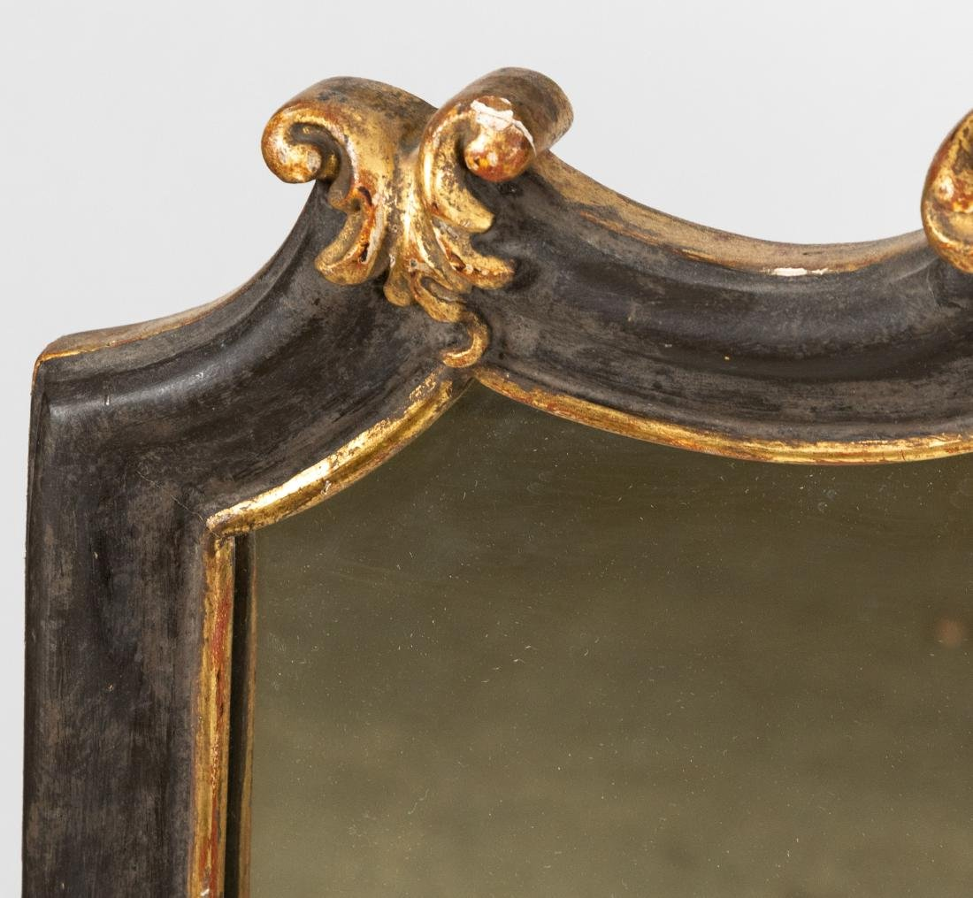 French Style Painted Mirror - 3