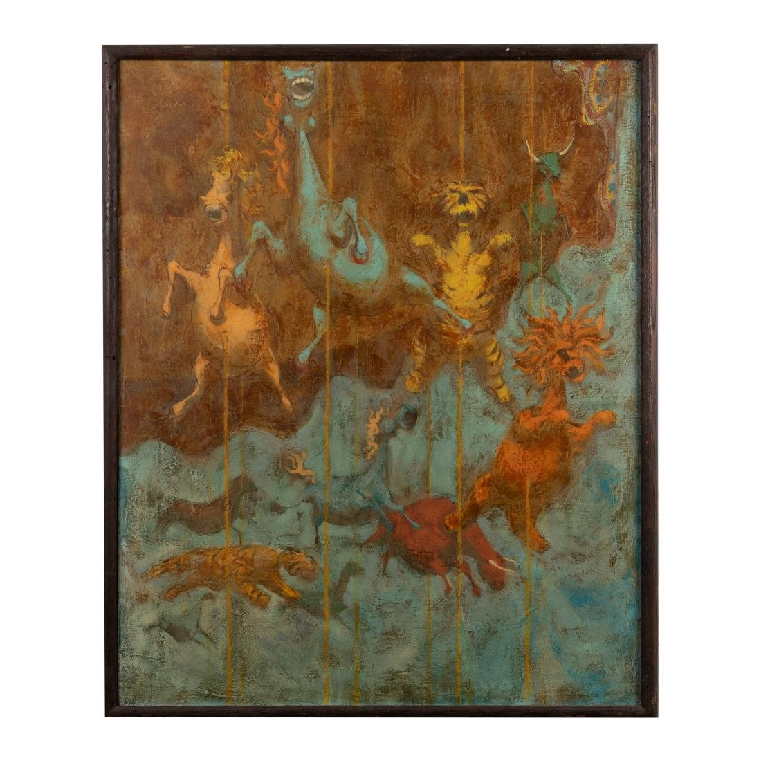 "David Berger - Oil on Canvas - ""Carousel"""