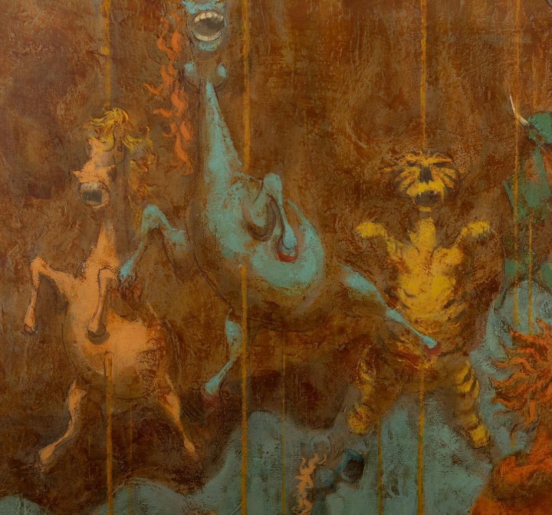 "David Berger - Oil on Canvas - ""Carousel"" - 2"