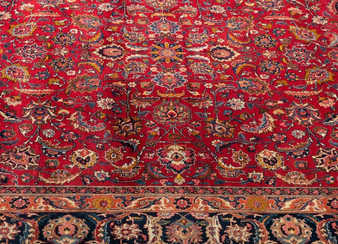 Oriental Rug - Red with Dark Border - 2