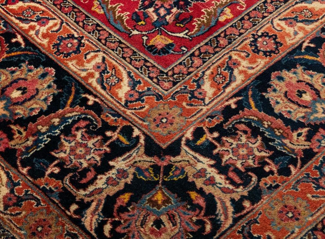 Oriental Rug - Red with Dark Border - 3