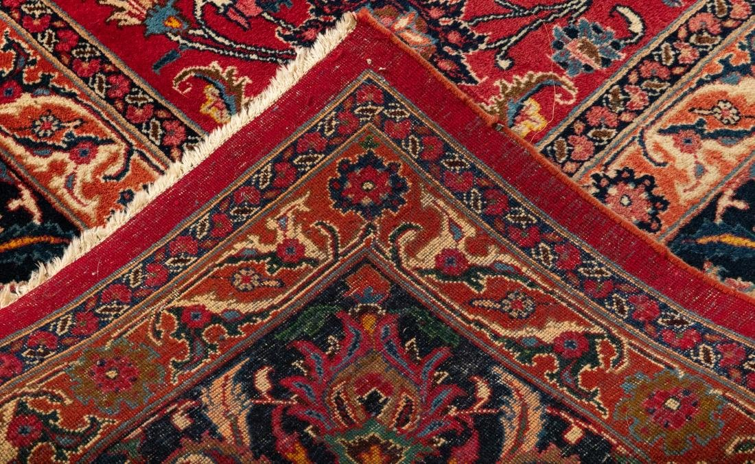 Oriental Rug - Red with Dark Border - 4