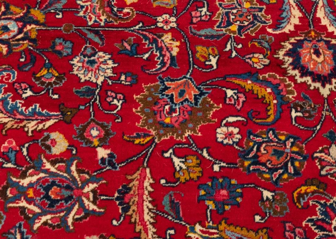 Oriental Rug - Red with Dark Border - 5