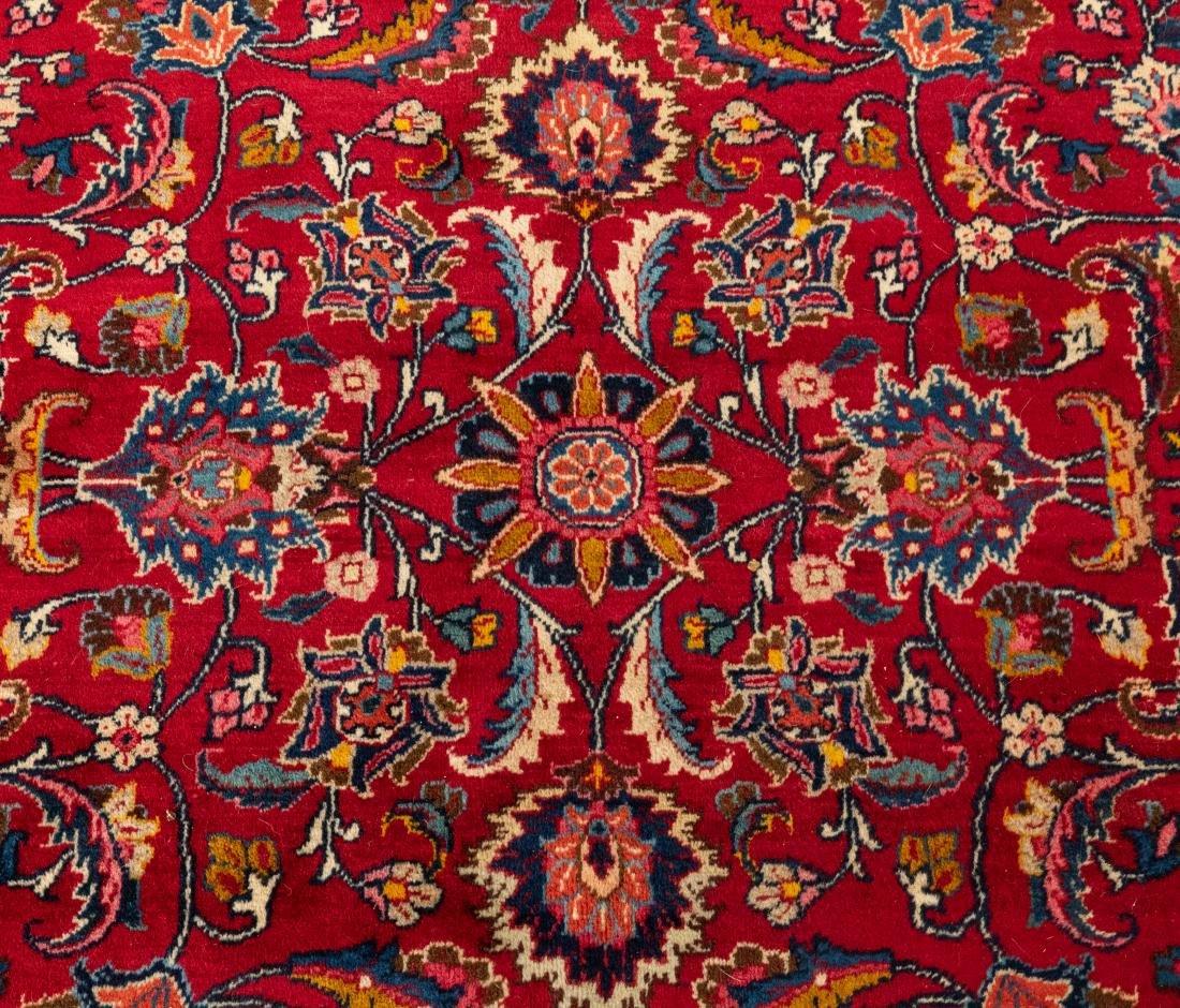 Oriental Rug - Red with Dark Border - 6