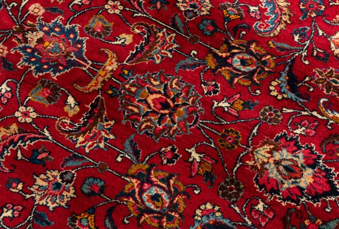 Oriental Rug - Red with Dark Border - 7