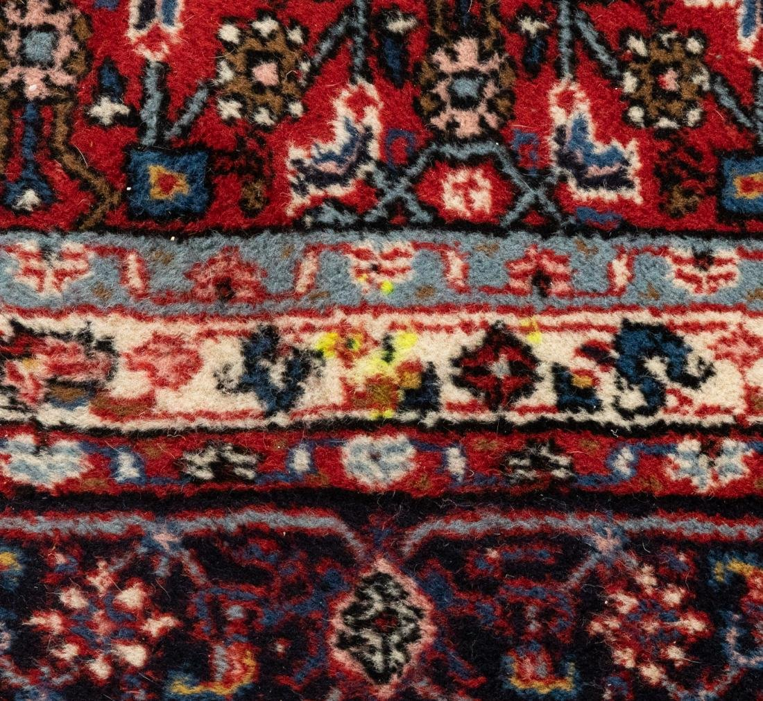 Oriental Rug - Blue and Red Border - 3