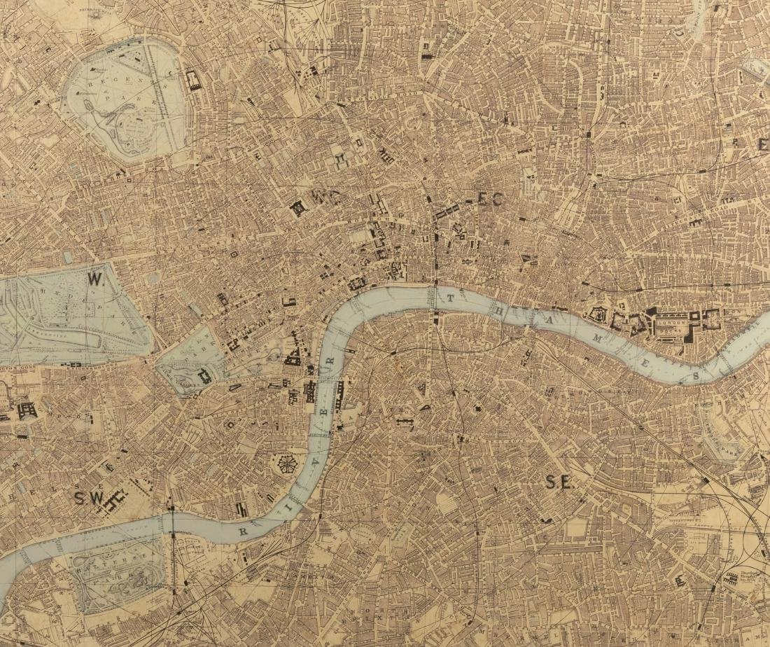 Reproduction London Map - Large - 2