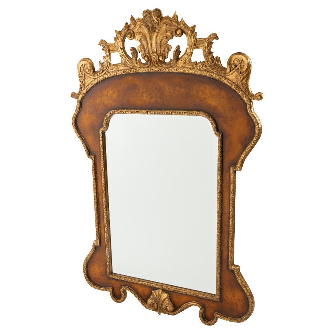 Large French Style Beveled Mirror