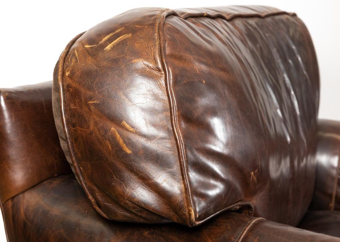 Restoration Hardware - Leather Club Chairs - 3