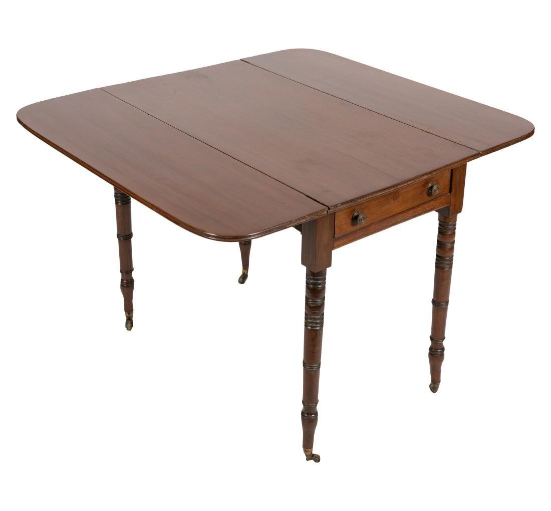 Mahogany Pembroke Table - 2