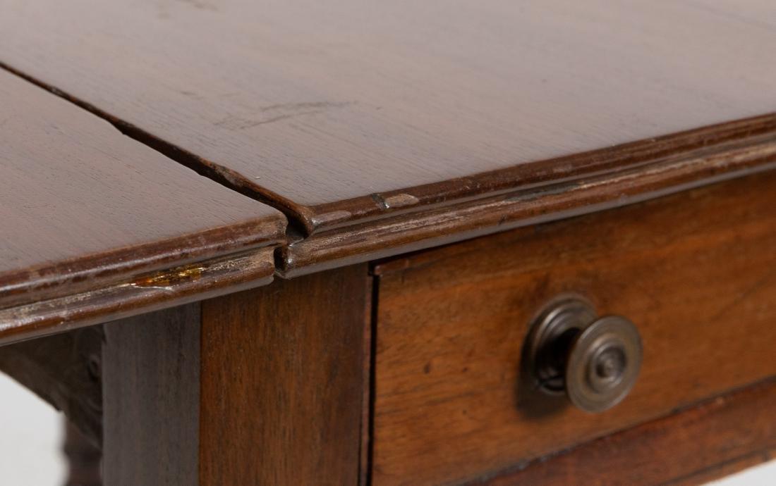 Mahogany Pembroke Table - 6