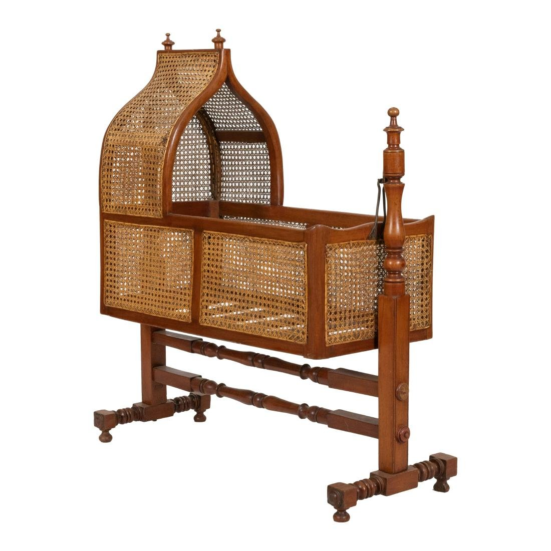 Victorian Cane Cradle