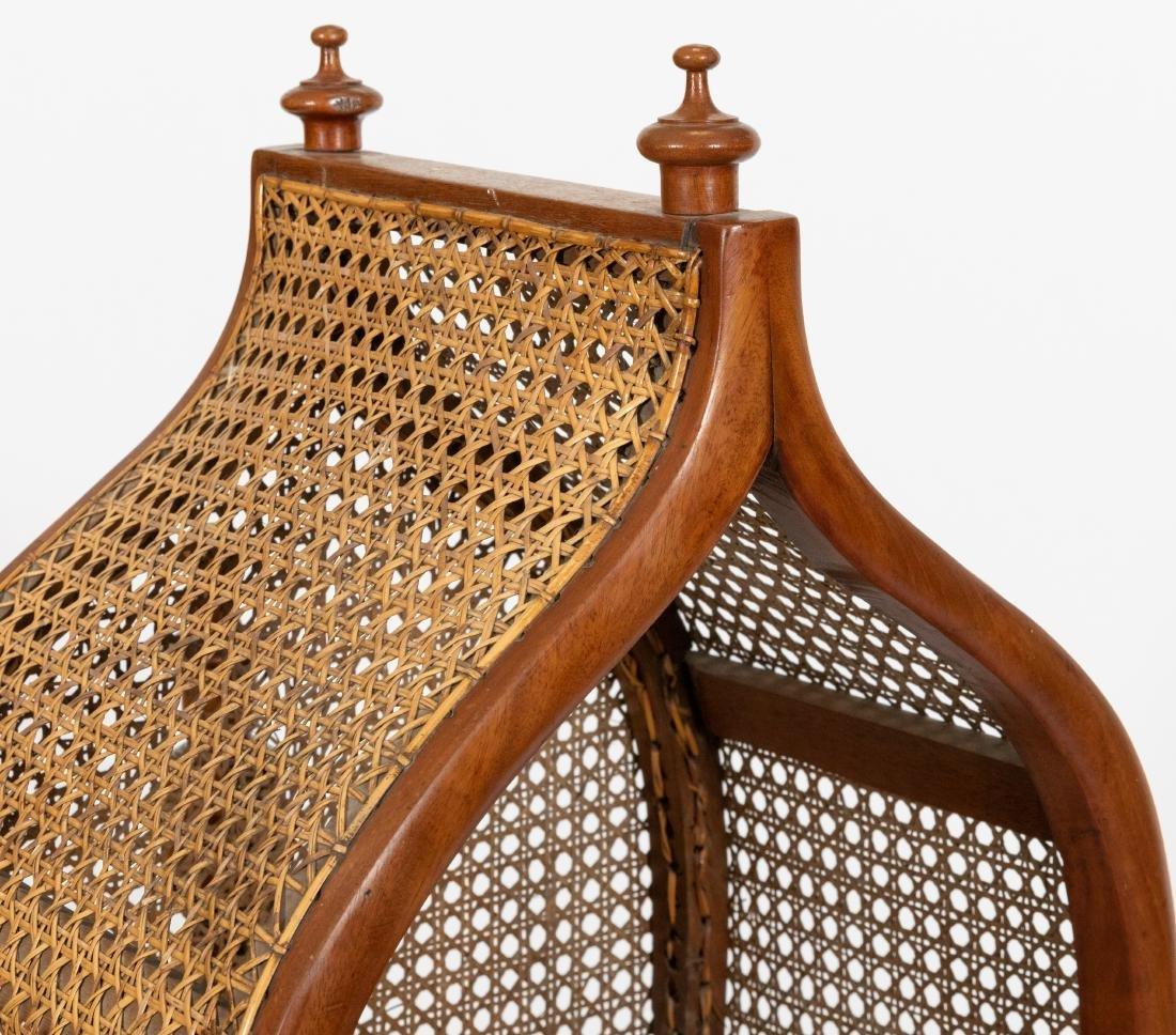 Victorian Cane Cradle - 2