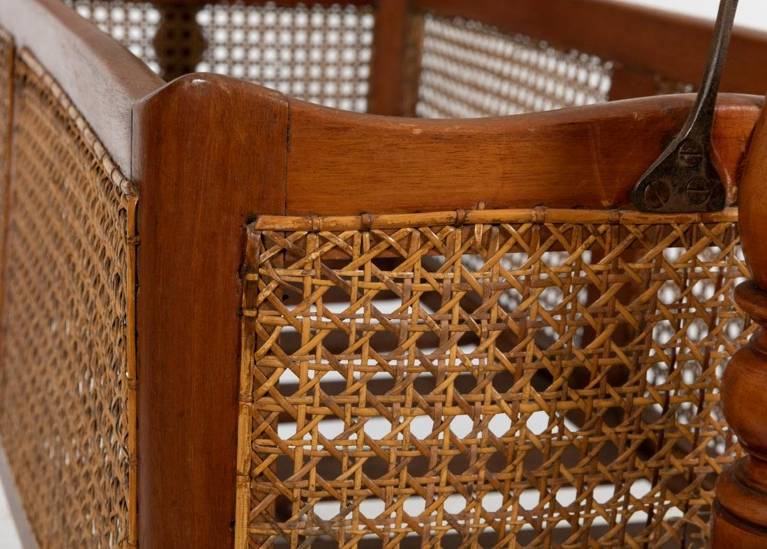 Victorian Cane Cradle - 4