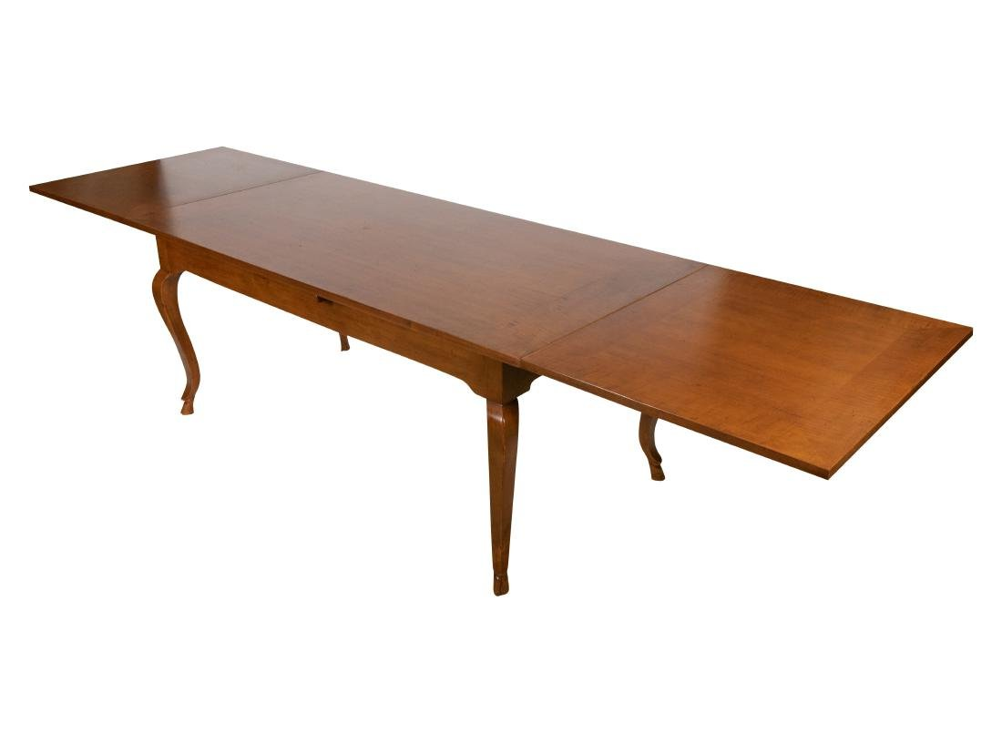 Walnut Refectory Dining Table - 2
