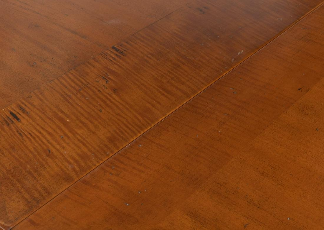 Walnut Refectory Dining Table - 3