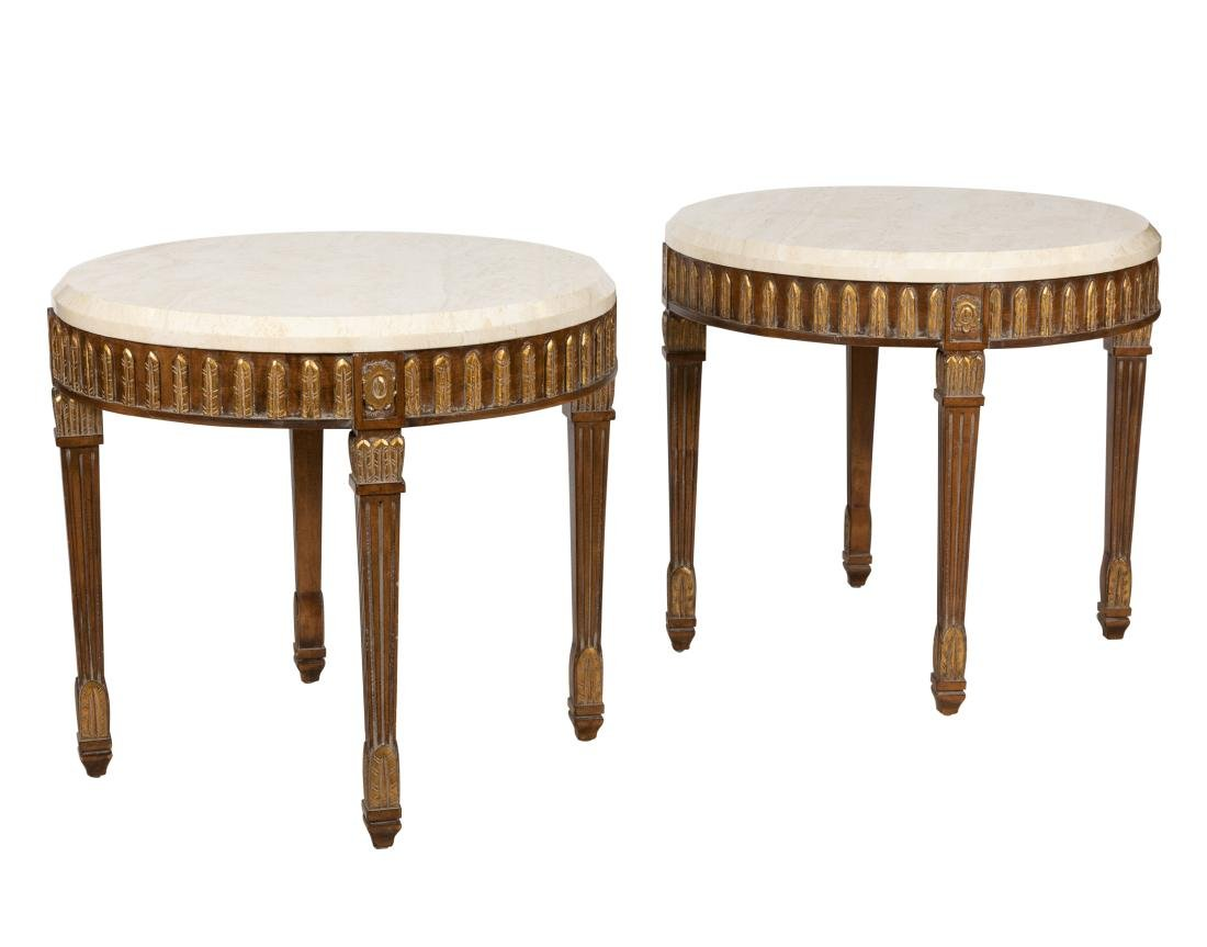 Maitland Smith - Marble Top End Tables