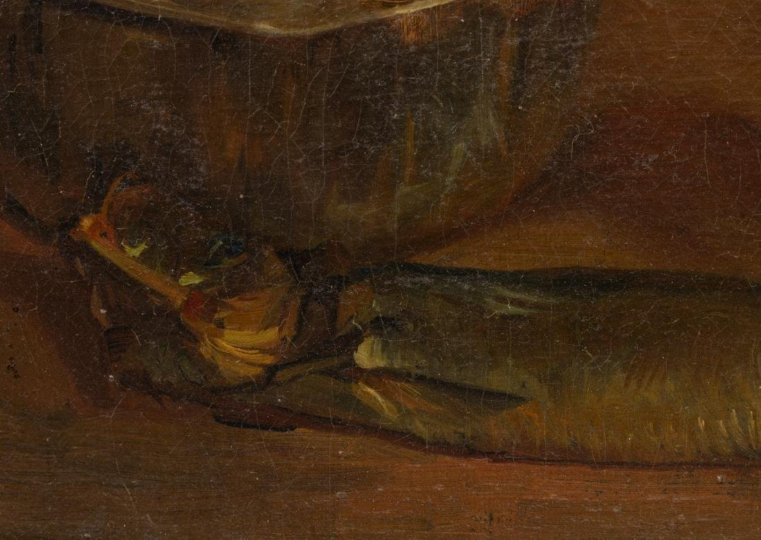 French Still Life - Oil on Canvas - Signed - 4