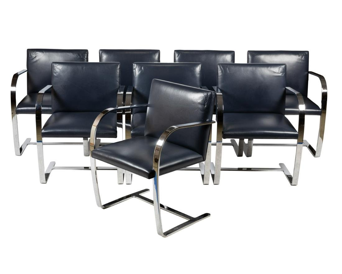 Mies Van Der Rohe - BRNO Chairs - Eight