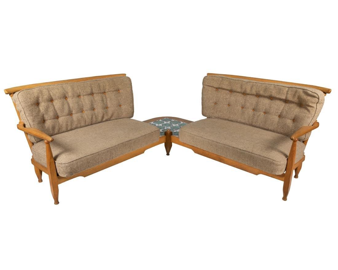 Guillerme & Chambron - Corner Sofa - 2