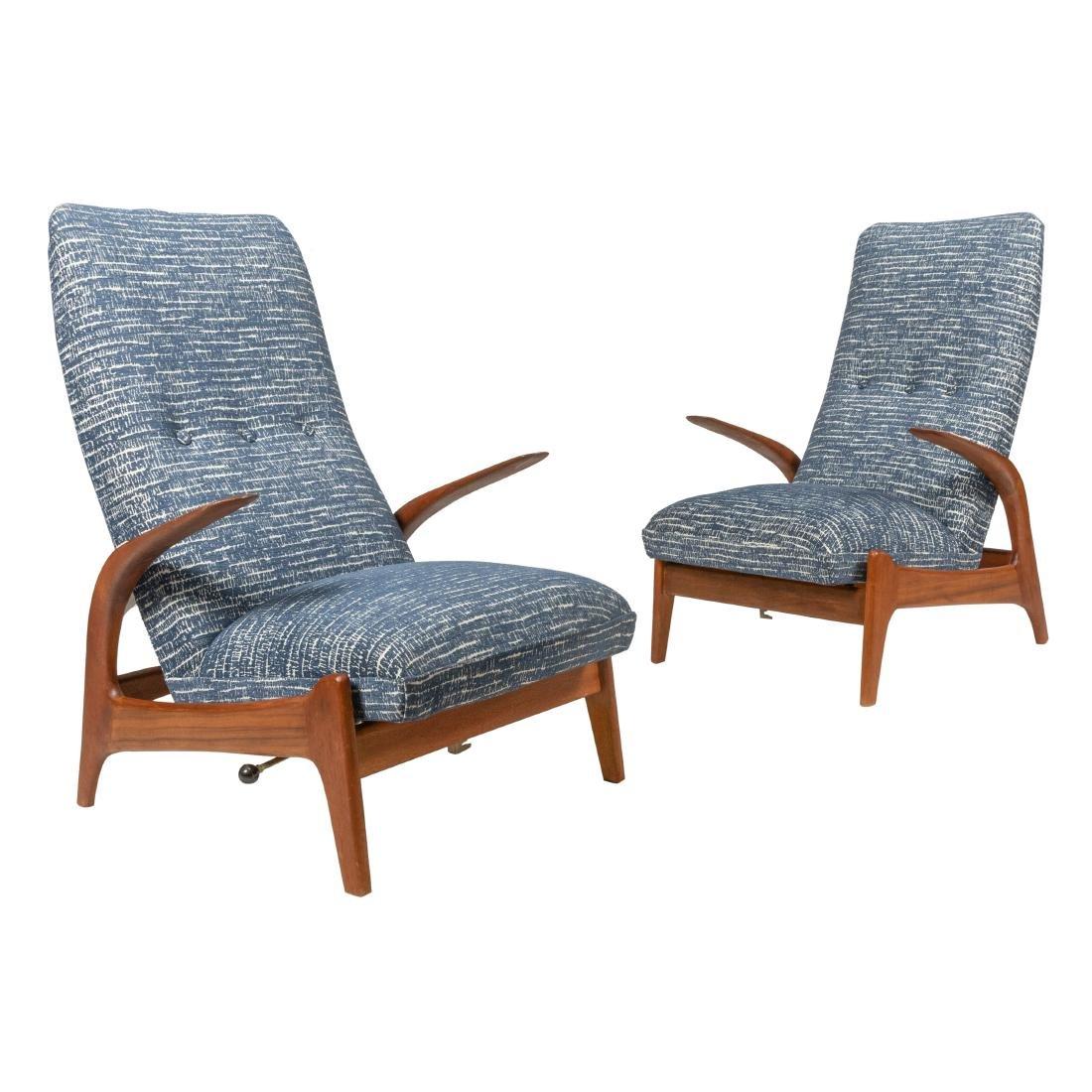Norwegian Lounge Chairs - Pair