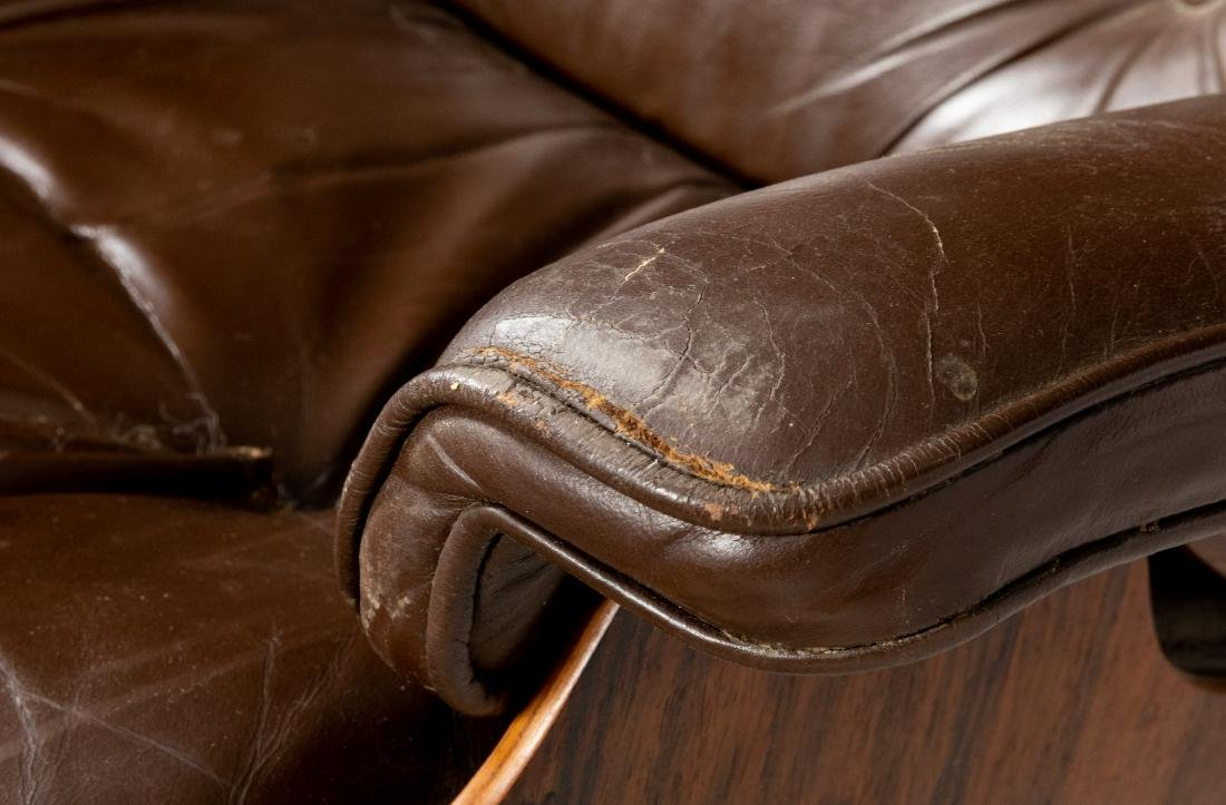 Charles & Ray Eames - Rosewood Lounge and Ottoman - 6