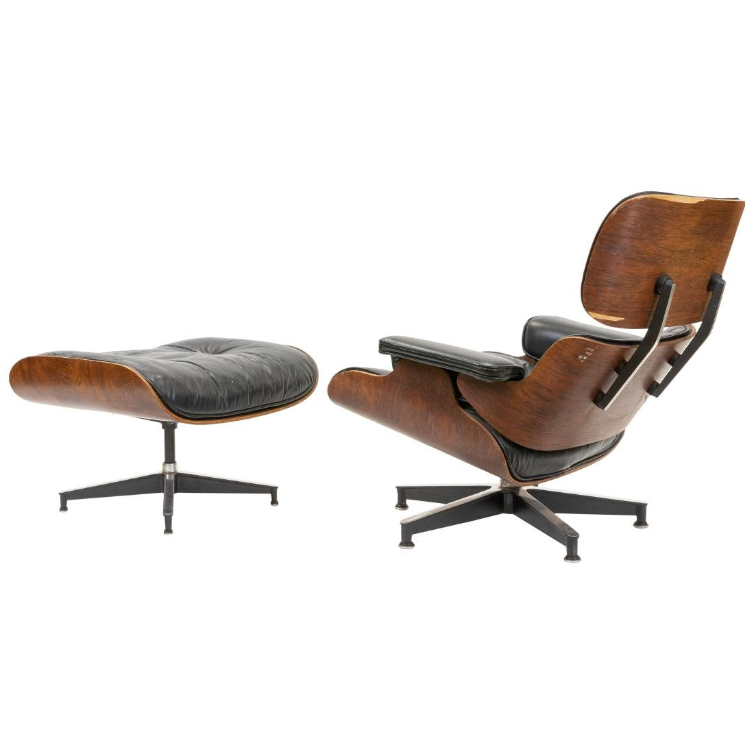 Charles & Ray Eames - Rosewood Lounge and Ottoman