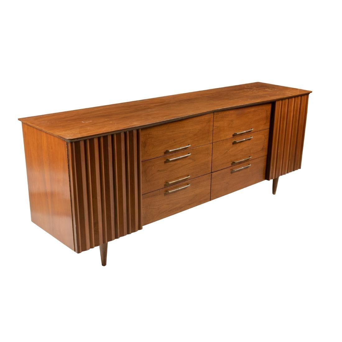 Mid Century Walnut Dresser
