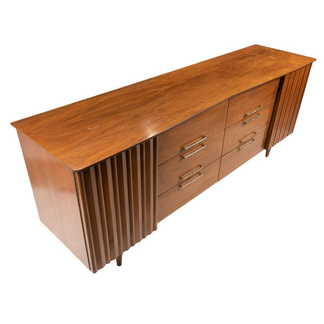 Mid Century Walnut Dresser - 2
