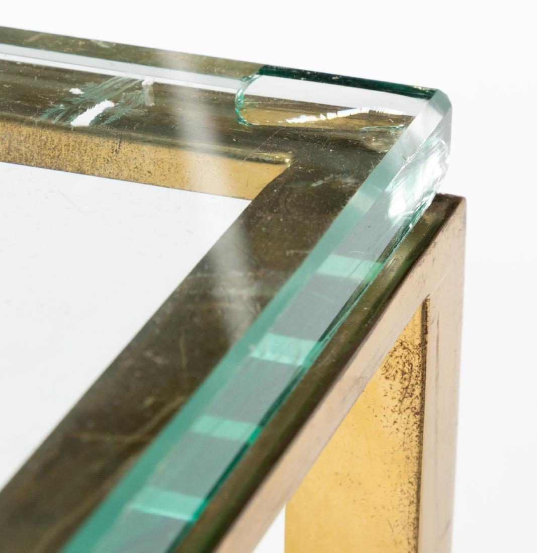 Brass & Glass Coffee Table - 2