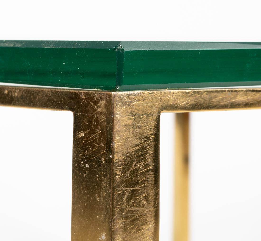 Brass & Glass Coffee Table - 3