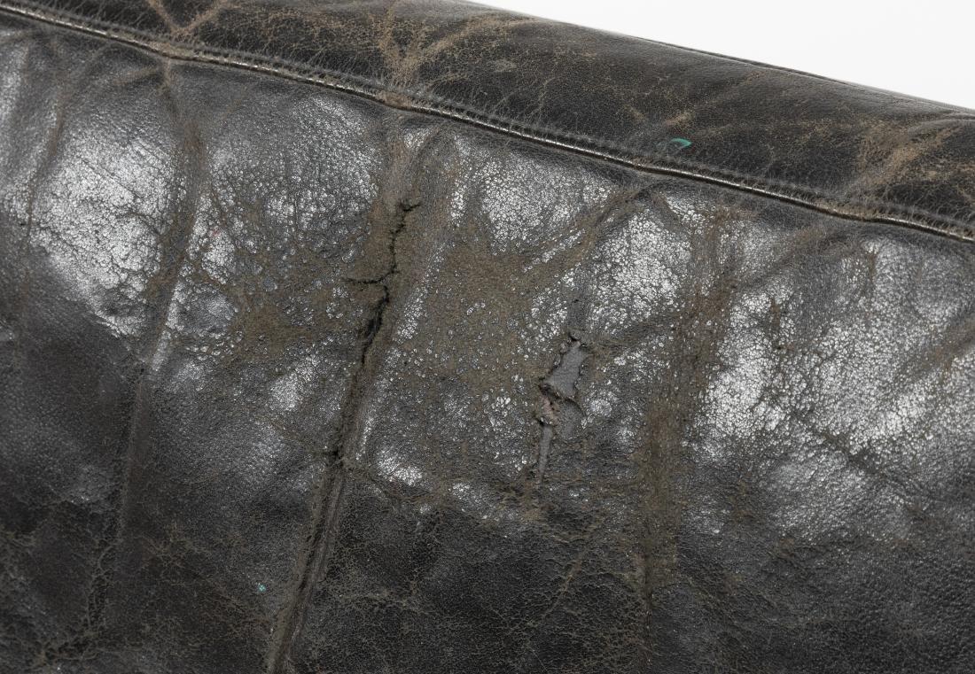Danish Rosewood and Leather Sofa - 3