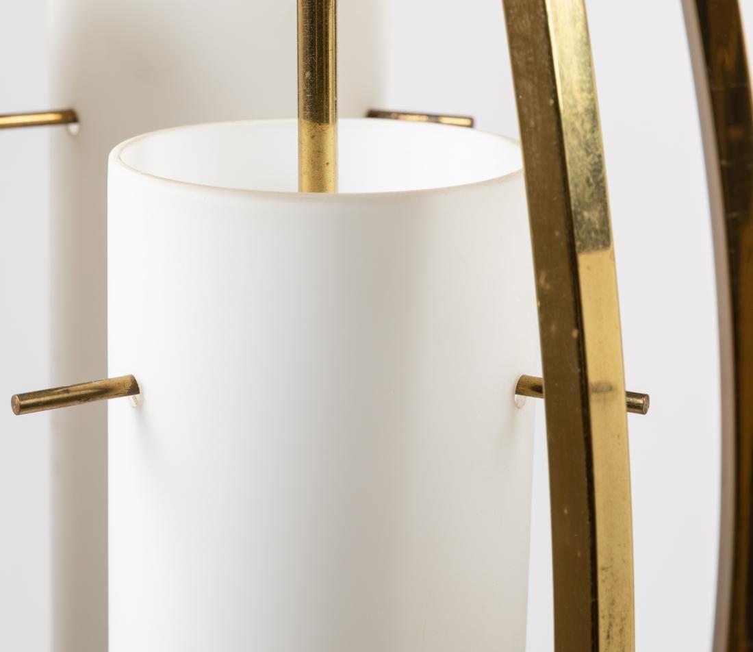 Brass 3-Light Lamps - Pair - 3