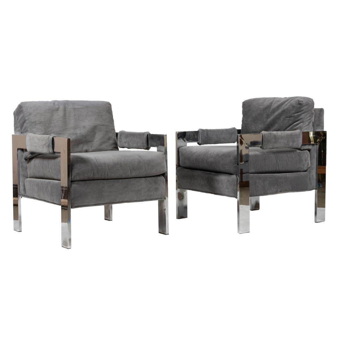 Chrome Lounge Chairs