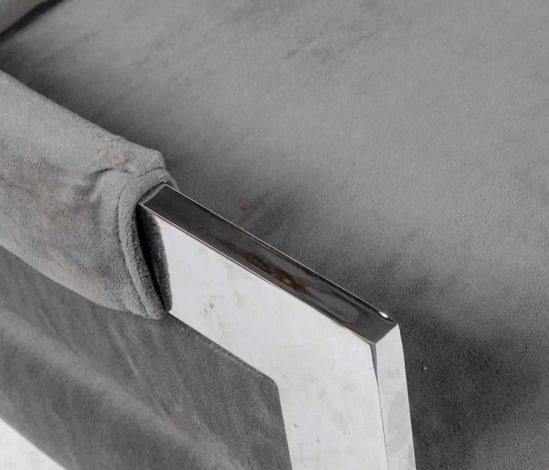 Chrome Lounge Chairs - 2