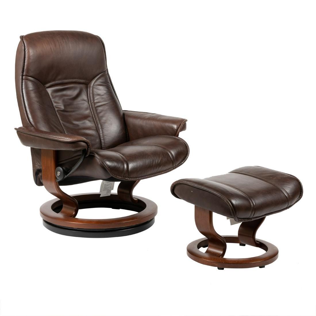 Ekornes - Stressless - Chair & Ottoman