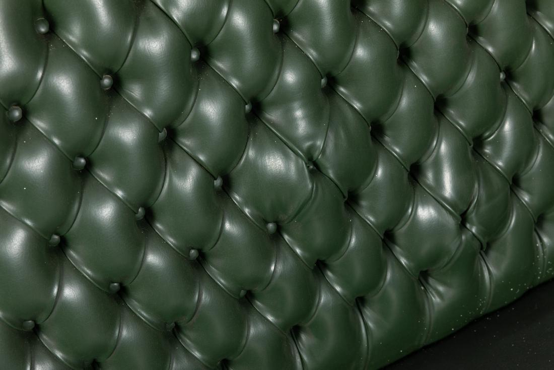 French Style - Tufted Vinyl Sofa - 2