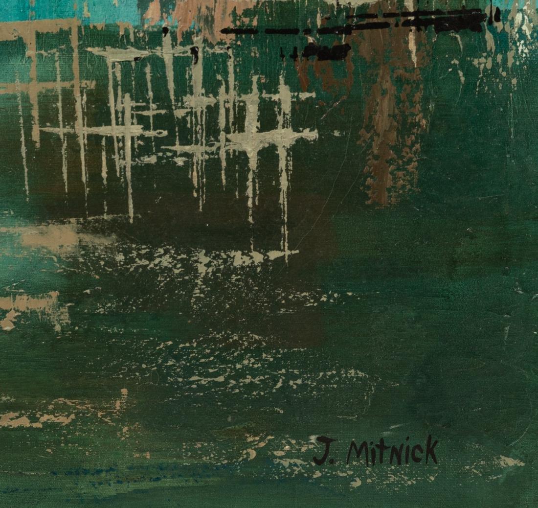 J. Mitnick - Oil on Canvas - 2