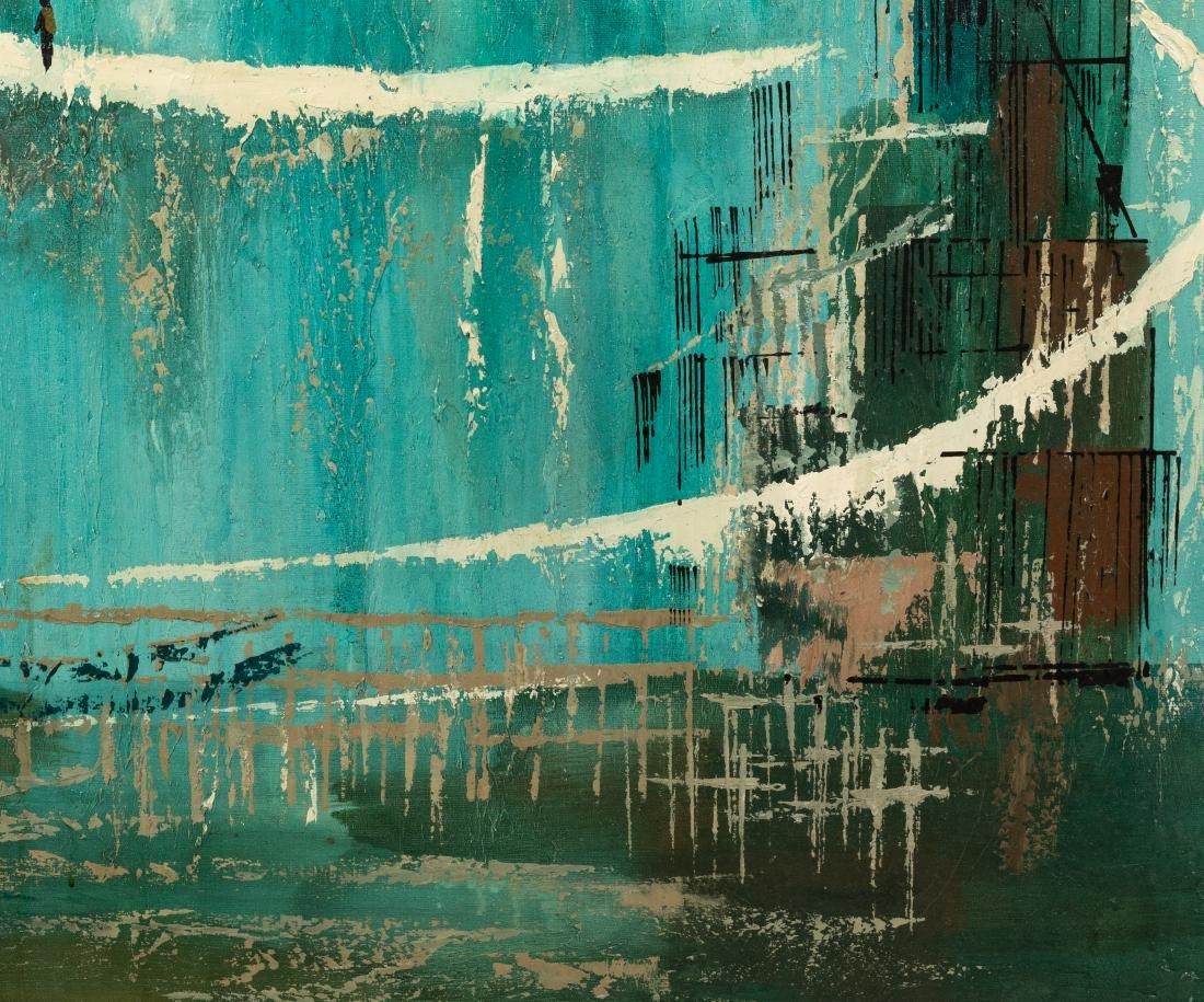 J. Mitnick - Oil on Canvas - 3