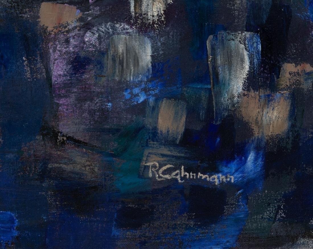 Ruth Cahnmann - Large Abstract Oil on Canvas - 2