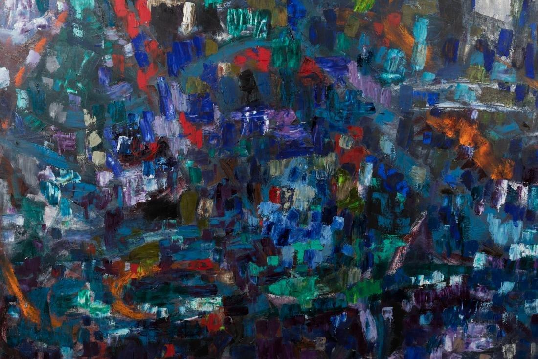 Ruth Cahnmann - Large Abstract Oil on Canvas - 3