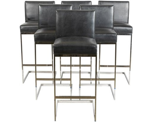 Amazing Brueton Chrome Cantilever Stools Six Pdpeps Interior Chair Design Pdpepsorg