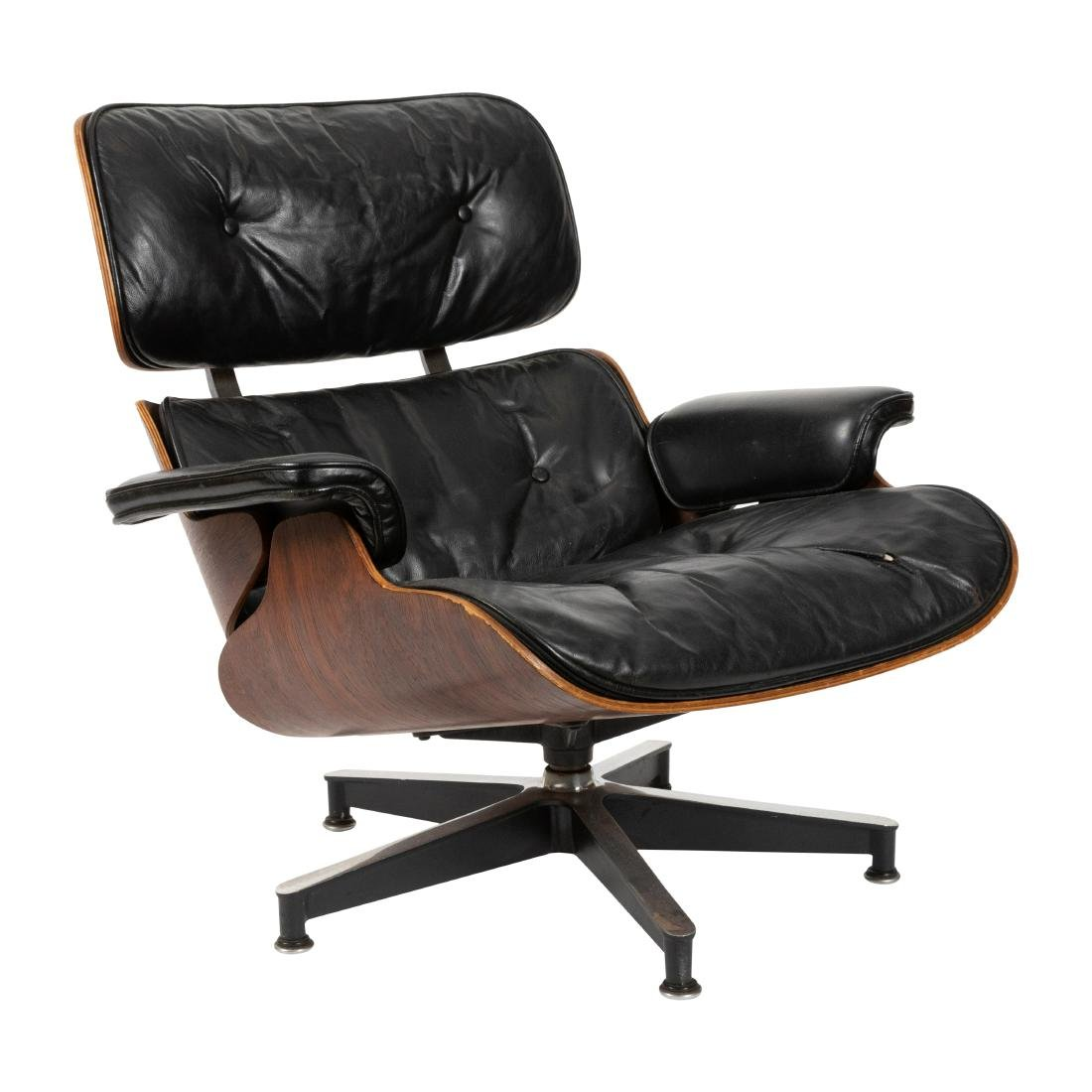 Charles & Ray Eames - Rosewood Lounge and Ottoman - 2