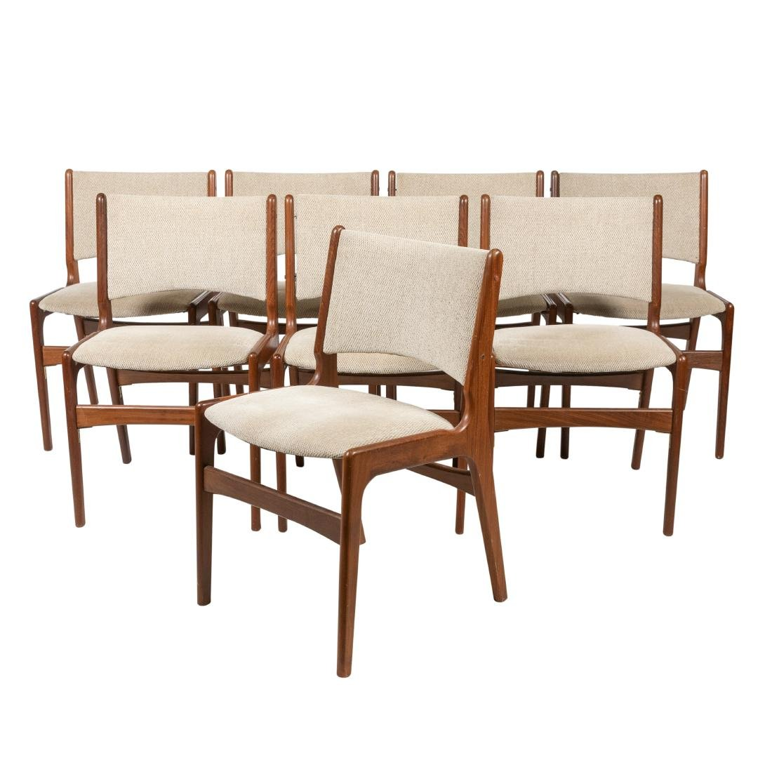 Falster - Teak Dining Chairs - Eight