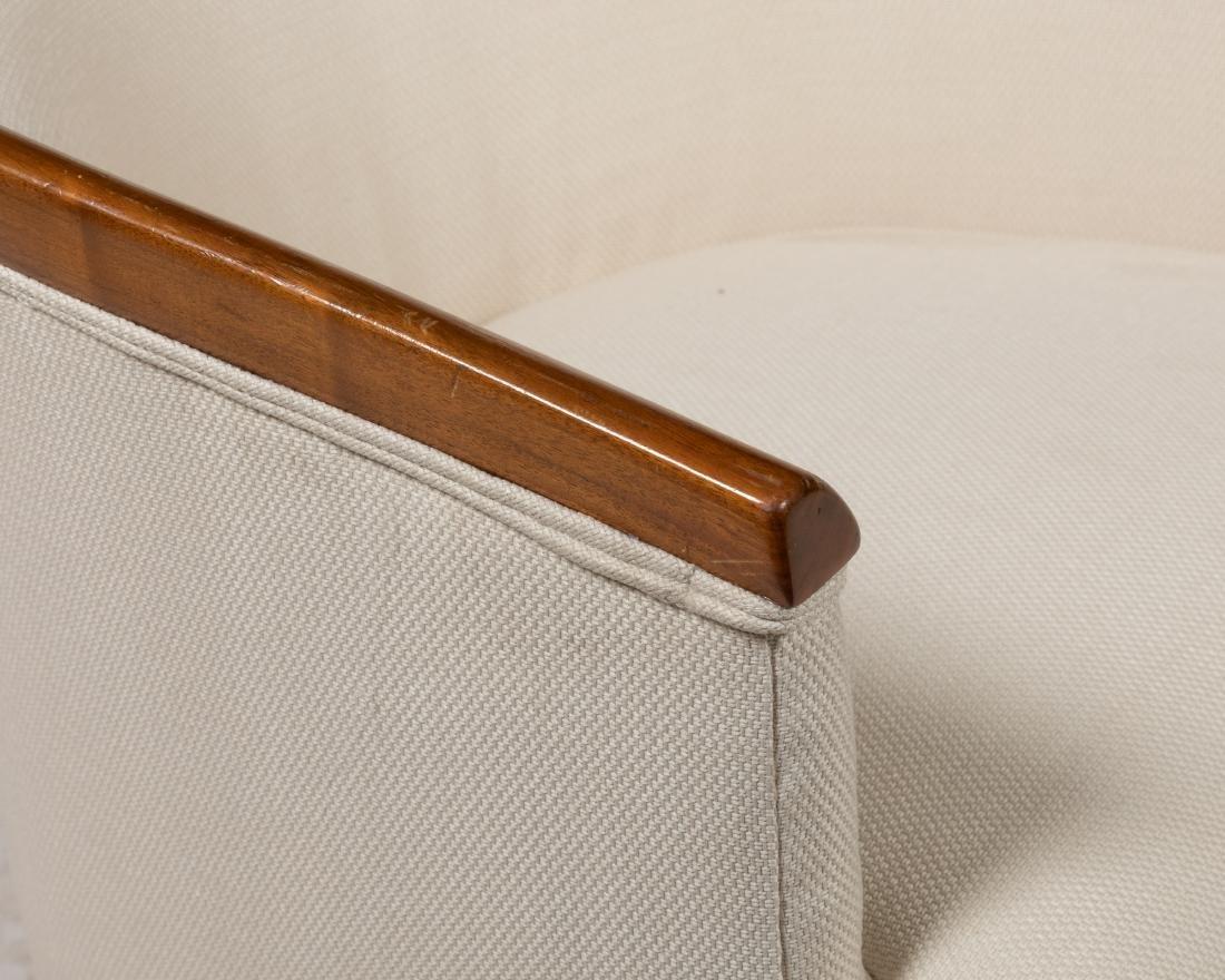 Walnut Chairs - Pair - 2