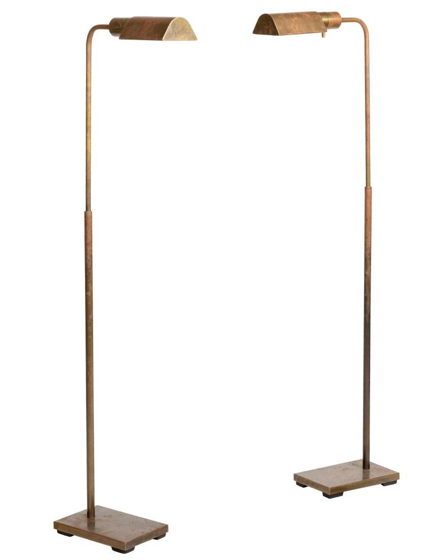 Adjustable Brass Floor Lamps