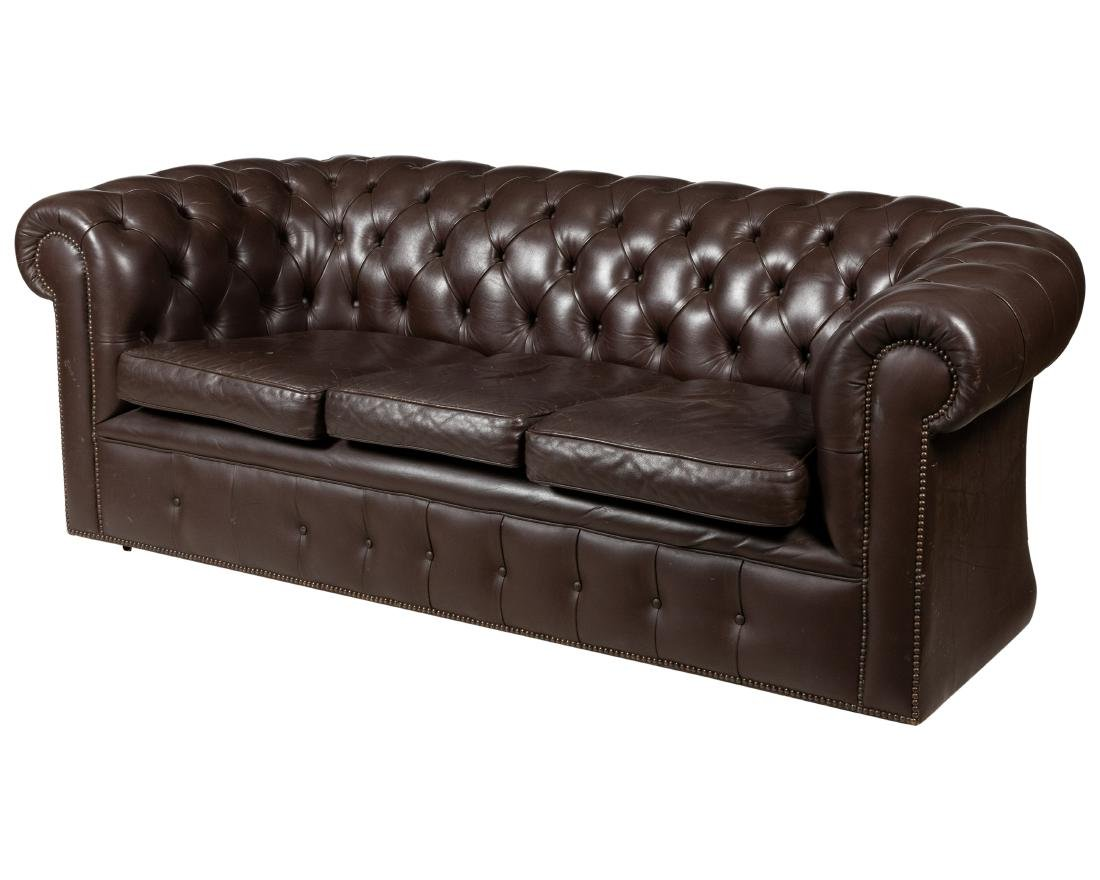 Chesterfield Leather - Sofa