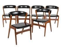 Kai Kristiansen - Dining Chairs - Six