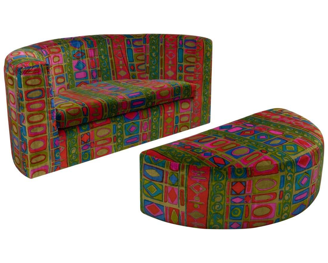 Milo Baughman - Thayer Coggin - Chair & Ottoman