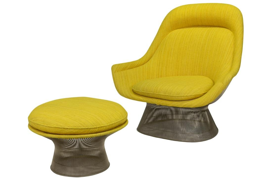 Warren Platner - Lounge Chair & Ottoman